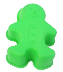 Snowman Shaped Silicone Cookies/Cake Mould pictures & photos