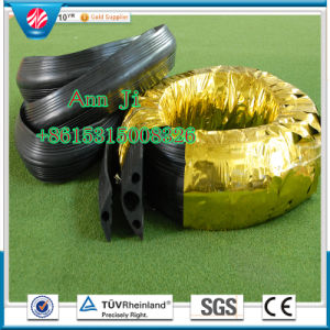Three Holes Rubber Code Protecter Rubber Road Cable Protector pictures & photos