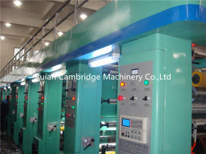 High Speed Computer Rotoravure Printing Machine