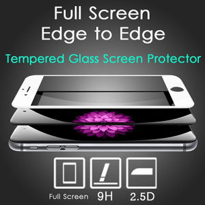 3D Full Screen Cover Tempered Glass Screen Protector Colors Film for iPhone 6 6s