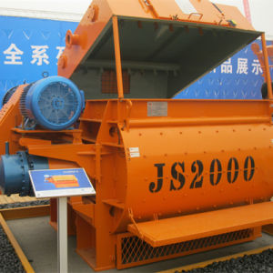 Twin-Shaft Concrete Mixture Machine (Js2000) pictures & photos