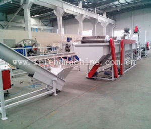 Waste PP PE Film Washing Cleaning and Recycling Line pictures & photos