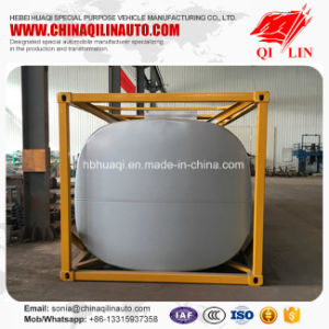 Factory Sale Framework Tanker Trailer for Chemical Liquids Loading pictures & photos