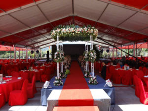 Luxury and Romantic Wedding Marquee in 18m Clear Span