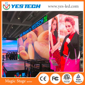 P4/P5mm Indoor/Outdoor Rental Stage Background LED Sign pictures & photos