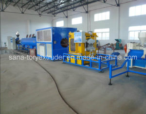 UPVC Plastic Pipe Extrusion Production Machine Line/Pipe Extruder pictures & photos