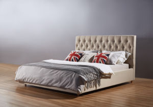 Simple Design Bed, Fabric Bed, Ciff Bed, China Bed (A01) pictures & photos