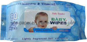 Cloth Nonwoven Baby Wet Wipes pictures & photos
