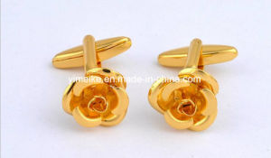 Personalized Simple Letter Animal Copper Metal Cufflinks Mens Accessories pictures & photos