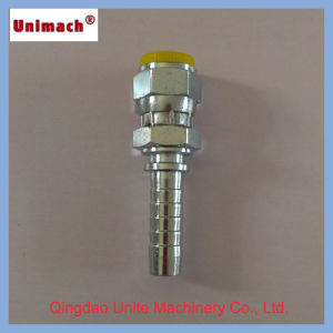 Forged Bsp Female 60° Cone Double Hexagon Hydraulic Fitting pictures & photos