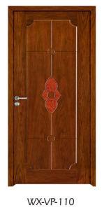 Competitive Wooden Door (WX-VP-110) pictures & photos