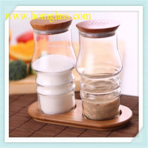 High Borosilicate Glass Food Storage Jar pictures & photos