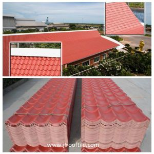 Anti-Corrosion Asa Plastic Roof Tile (Excellent Waterproofing) pictures & photos