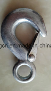 Drop Forged Eye Hook with Latch pictures & photos