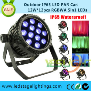 RGBWA LED PAR Waterproof/ LED Stage Lighting Systems pictures & photos