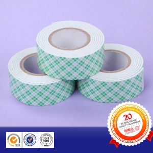 Strong Adhesive EVA/ PE Double Sided Foam Tape pictures & photos
