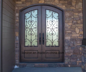Beautiful Custom Security Steel Front Door for House pictures & photos