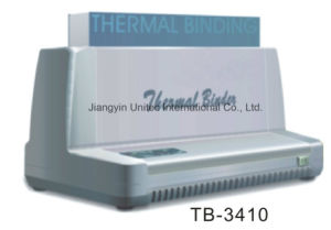 Gluing Machine Book Thermal Binder Tb-3410/Tb-3420 pictures & photos