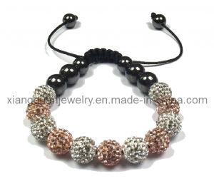 Xg-Yk40 10mm Crystal Beads with Crystal Shamballa Bracelet