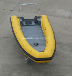 China Aqualand 19feet 5.8m Rigid Inflatable Rescue Patrol Boat/Rib Motor Boat/Fishing Boat (rib580t) pictures & photos