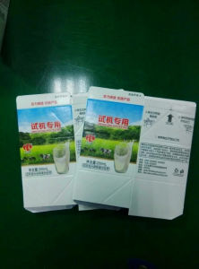 200ml Fruit Juice Gable Top Carton pictures & photos
