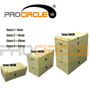 Crossfit Wooden Puzzle Plyo Boxes Set (PC-PB1002) pictures & photos