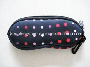 Full Color Pritning Neoprene Glasses Case pictures & photos