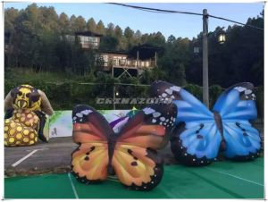 Woo! Amazing Beautiful Butterfly Inflatable Replica for Decoration