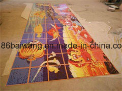 Mosaic Mural for Wall Background Map pictures & photos