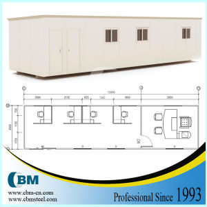 Cbm Prefabricated Container House for Site Office (pH1230-01)