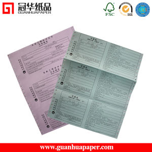 2016 Best Selling Multi-Ply Blank Computer Continous Printing Copy Paper pictures & photos