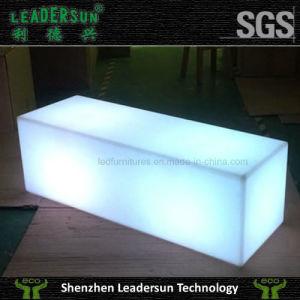 Luminart Synergy LED Bar Ottoman
