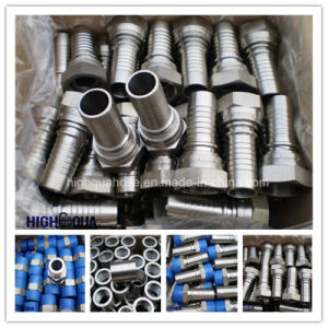 Bsp Jic NPT Male / Swivel Female Stainless Steel Hydraulic Connector pictures & photos