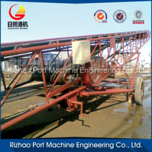 SPD Rubber Pipe Conveyor for Material Handling pictures & photos