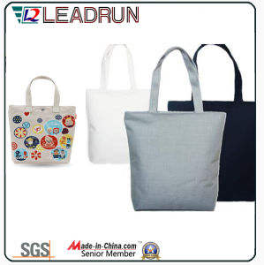 Gift Paper Nonwoven Shopping Bag Leather Cotton Canvas Hand Shopping Bag (X027) pictures & photos