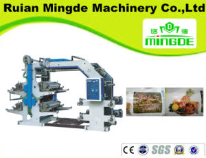 1-4-Colour Flexible Printing Machine, T-Shirt Bag Printing Machine, Low Price Mechine pictures & photos
