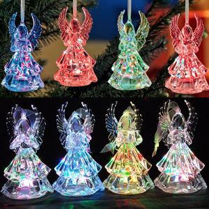 Hot Sale LED Acrylic Angle Christmas Decoration Light for Gift