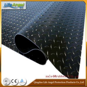 Rib Rubber Sheet/Rubber Sheet/Color Industrial Rubber Sheet pictures & photos