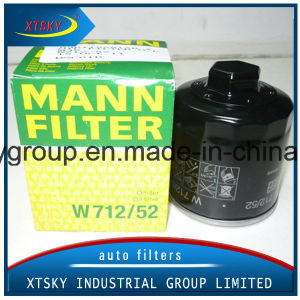 Auto Oil Filter W712-52 for Volkswagen pictures & photos