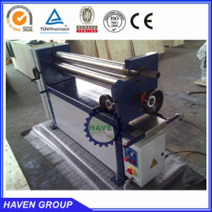 Three roller metal bending and rolling machines with light type pictures & photos