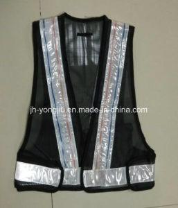 Reflective Crystal Screen Cloth Safety Vest