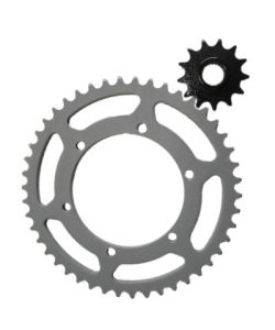 Motorcycle Sprocket Rear Gear and Front Pinion-Xtz 250 pictures & photos
