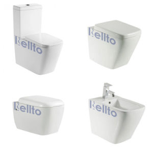Water Closet Toilet Sanitary Ware for Bathroom Suite (S19) pictures & photos