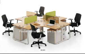 Top Sales Office Modular Workstation in Cross Design (HF-BSD031) pictures & photos