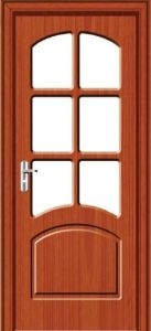 MDF Security Interior Door (HHD-074B) pictures & photos