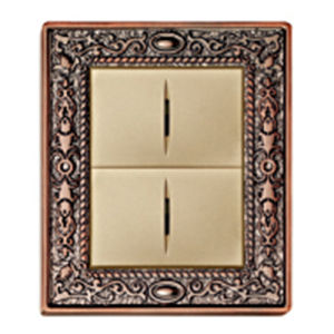High Quality Classic Pattern Brass Wall Light Switch pictures & photos