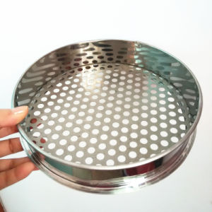 Professional Round Stainless Steel Flour Sieve Sifter with 60 Mesh and Perforated Sieve pictures & photos