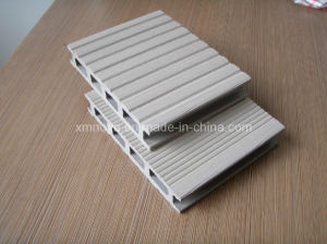 Special White Outdoor WPC Decking Flooring for Terrace / Fence pictures & photos