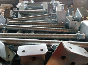 Auto Welding Screw Jack Scaffold Base pictures & photos