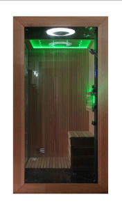 Monalisa Deluxe Sauna Shower Steam Combination Room (M-6035) pictures & photos